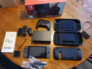 Nintendo Switch 128gb SD card, Super Smash Bros w/ accessories for Sale in Smyrna, GA