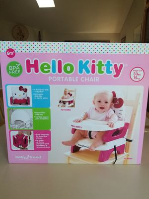 NEW IN BOX HELLO KITTY PORTABLE CHAIR. PICK UP MIDDLEBORO ONLY. for Sale in Middleborough, MA