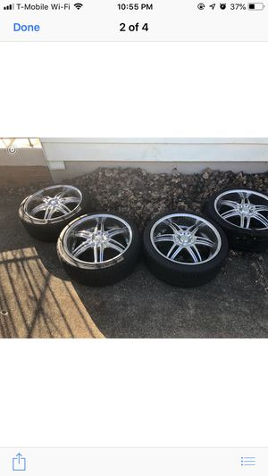 20 inch rims and tires for Sale in Washington, DC