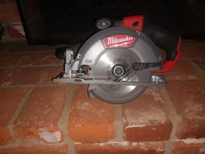 Milwaukee fuel 5 3/8 m12 circular saw for Sale in La Mesa, CA
