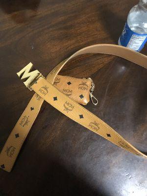 McM Belt & Wallet for Sale in Baltimore, MD