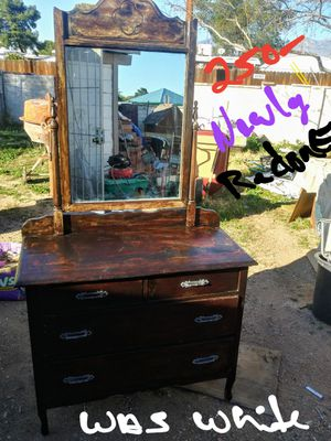 Antique dresser for Sale in Tucson, AZ