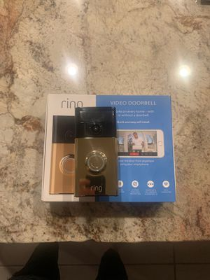 Ring video doorbell pro for Sale in Clovis, CA