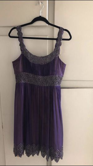 Adrianna Papell Evening Essentials Purple Dress for Sale in Paramount, CA