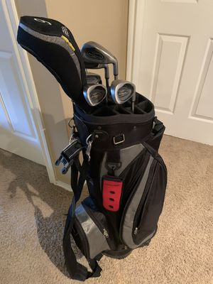 DATREK Golf Bag with rollers and Weather guard includes Clubs for Sale in Austin, TX