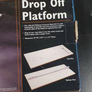 Rockler Drop Off Platform - Table Saw Sled for Sale in Lynnwood, WA
