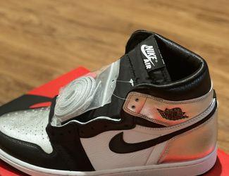 Jordan 1 Silver Toe 12W 10.5M for Sale in Compton,  CA
