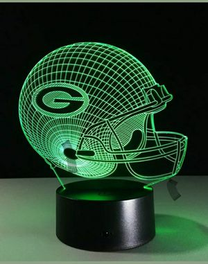 Green Bay Packers NFL Night Light Lamp for Sale in Berlin, NJ