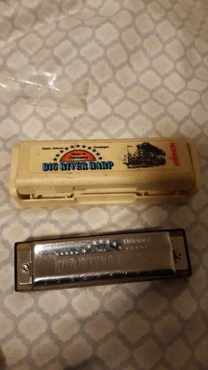 Big river hard. Hohner G harmonica for Sale in Everett, WA
