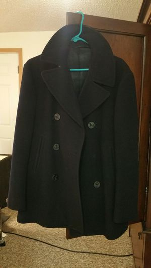 Navy jacket peacoat for Sale in East Wenatchee, WA