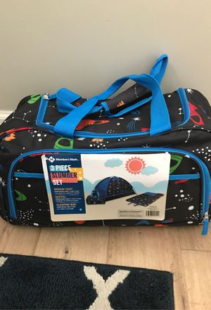Kids tent, sleeping bag, and duffel bag—NEW for Sale in Phoenix, AZ