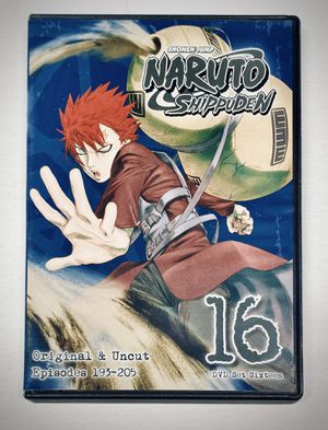 "NARUTO ""Shippuden"" DVD Box Set #16 - NEW for Sale in Alamogordo, NM"