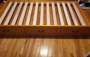 Honey Pine Trundle bed for Sale in BLACKWOOD, NJ