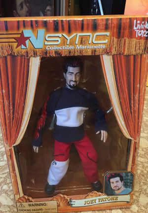 Toy Collectible marionette NSYNC (Joey Fatone) for Sale in Hialeah, FL