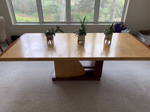 Solid Dining Wood Table and 8 Chairs for Sale in San Diego, CA