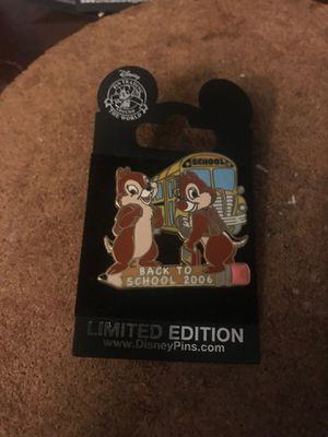 Disney Chip and Dale back to school pin for Sale in Winter Haven, FL