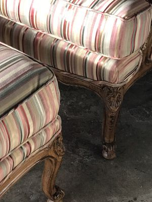 Chair w/matching ottoman for Sale in West Palm Beach, FL