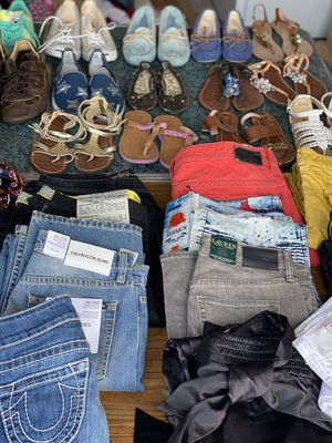 #Lot of High end clothing & shoes for Sale in Glendale, AZ