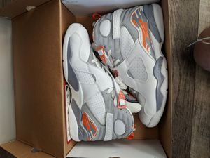 Jordan retro 8 orange blaze ds size 12 for Sale in Denver, CO