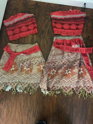 Moana Dress Up Costumes for Sale in Spring Valley, CA