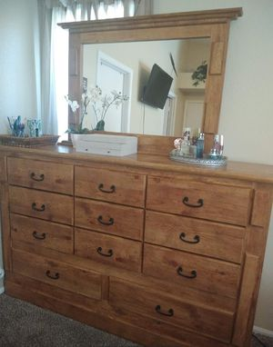 11 Drawer Dresser with Mirror for Sale in Tolleson, AZ