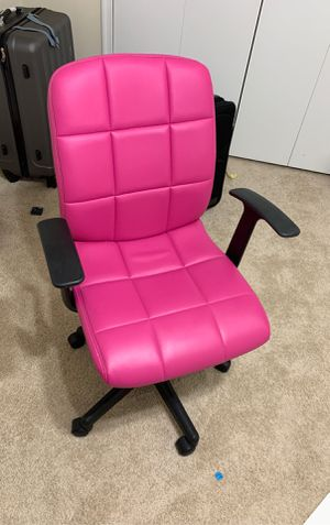 Pink office chair for Sale in Manassas, VA