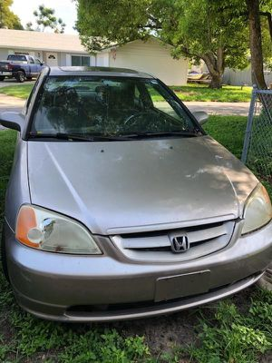 2002 Honda Civic EX, Automatic, Clean Title. for Sale in Winter Haven, FL