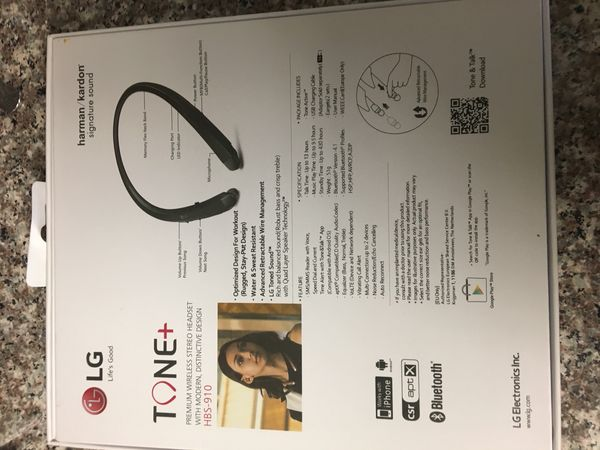 NEW LG BLUETOOTH HEADSET