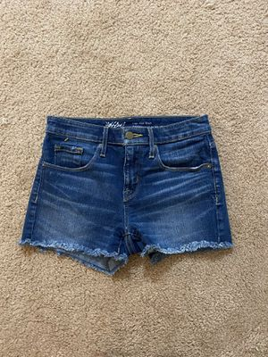 Wassio Denim Shorts - Size 25/0 for Sale in Mechanicville, NY