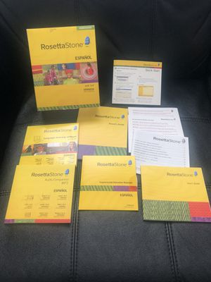 Rosetta Stone Spanish Level 1 and 2 homeschool for Sale in Hayward, CA
