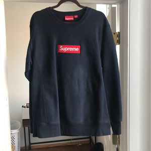 Supreme Sweatshirt Blue for Sale in Chicago, IL