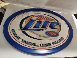 "Miller Lite Beer Oval Bar Mirror 24"" X 18"" for Sale in San Jose, CA"