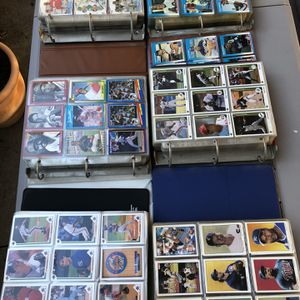 Huge Lot Of Baseball Cards 7 Binders! for Sale in Irvine, CA