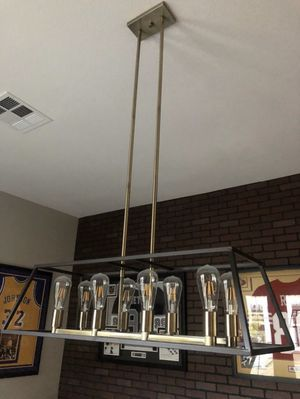 Modern hanging light for Sale in Heath, TX