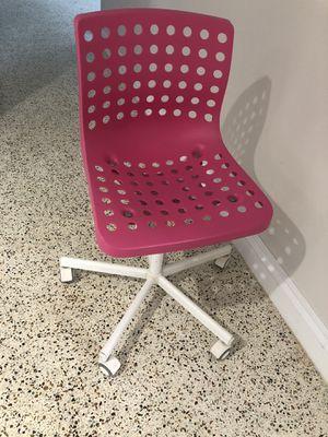 Pink IKEA desk chair for Sale in Miami, FL