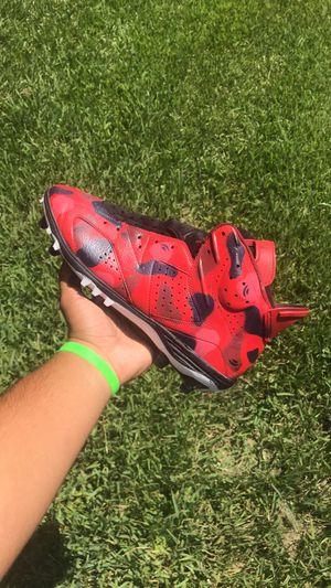 "Air Jordan 6 football cleats custom ""Bape"" @kidsaucecustoms for Sale in Kissimmee, FL"