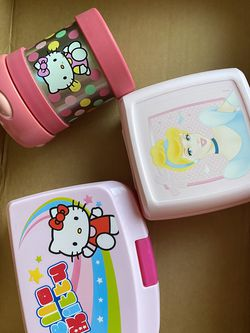 Hello Kitty Thermos, Sandwich Box for Sale in Huntington Beach,  CA