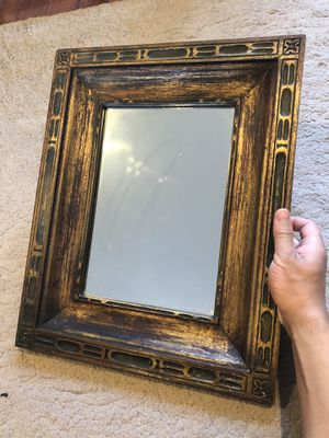 Wood framed wall mirror for Sale in San Mateo, CA
