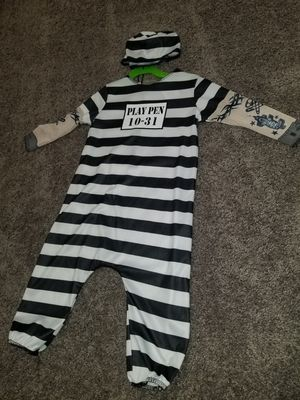 Toddler inmate costume for Sale in Leona Valley, CA