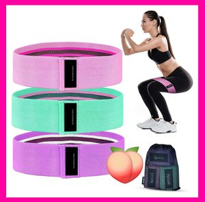 🏋👙🍑NEW SET OF 3 x EXTRA THICK FABRIC HIP RESISTANCE BANDS! FREE CARRYING BAG!!🏋👙🍑 for Sale in Ontario, CA