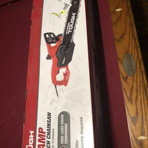 Hyper Tough 9-Amp 14-Inch Chainsaw for Sale in Virginia Beach, VA