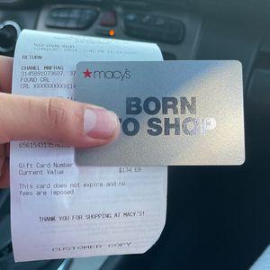 Macy Card for Sale in Fontana, CA