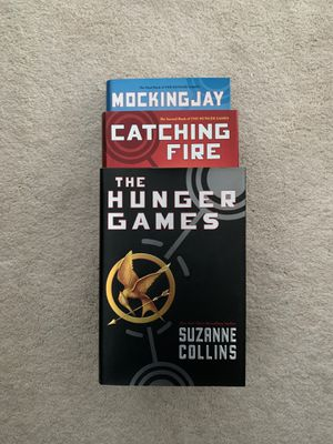 Hunger Games Trilogy (Hardcover) for Sale in Newcastle, WA