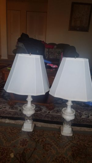 Marbel lamps for Sale in Gaithersburg, MD