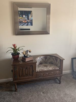 Antique telephone table for Sale in Nashville, TN