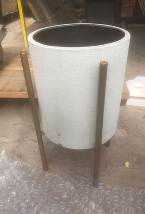 Vase with stand or plant holder for Sale in Santa Clarita, CA