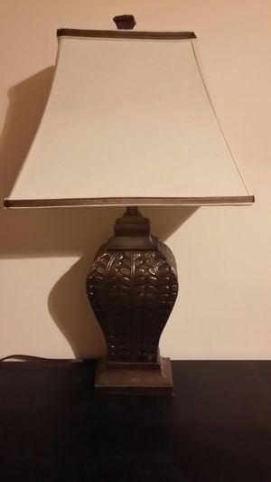 Bronze lamp. Stylish and Classy. for Sale in Greenville, SC