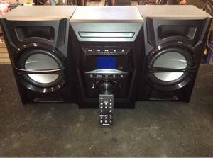 Stereo Systems Bluetooth CD player new use only to times for Sale in Bradenton, FL