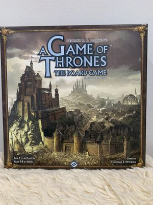 Game of Thrones 2nd Edition Board Game for Sale in Long Beach, CA