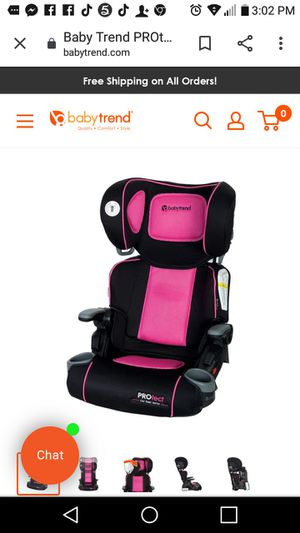 BABY TREND BOOSTER SEAT for Sale in Irving, TX